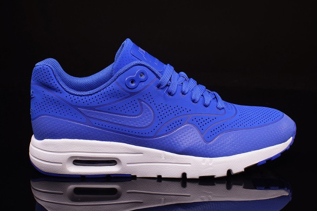 Nike Air Max 1 Ultra Moire Game Royal Blue White Men's Shoe 704995-400
