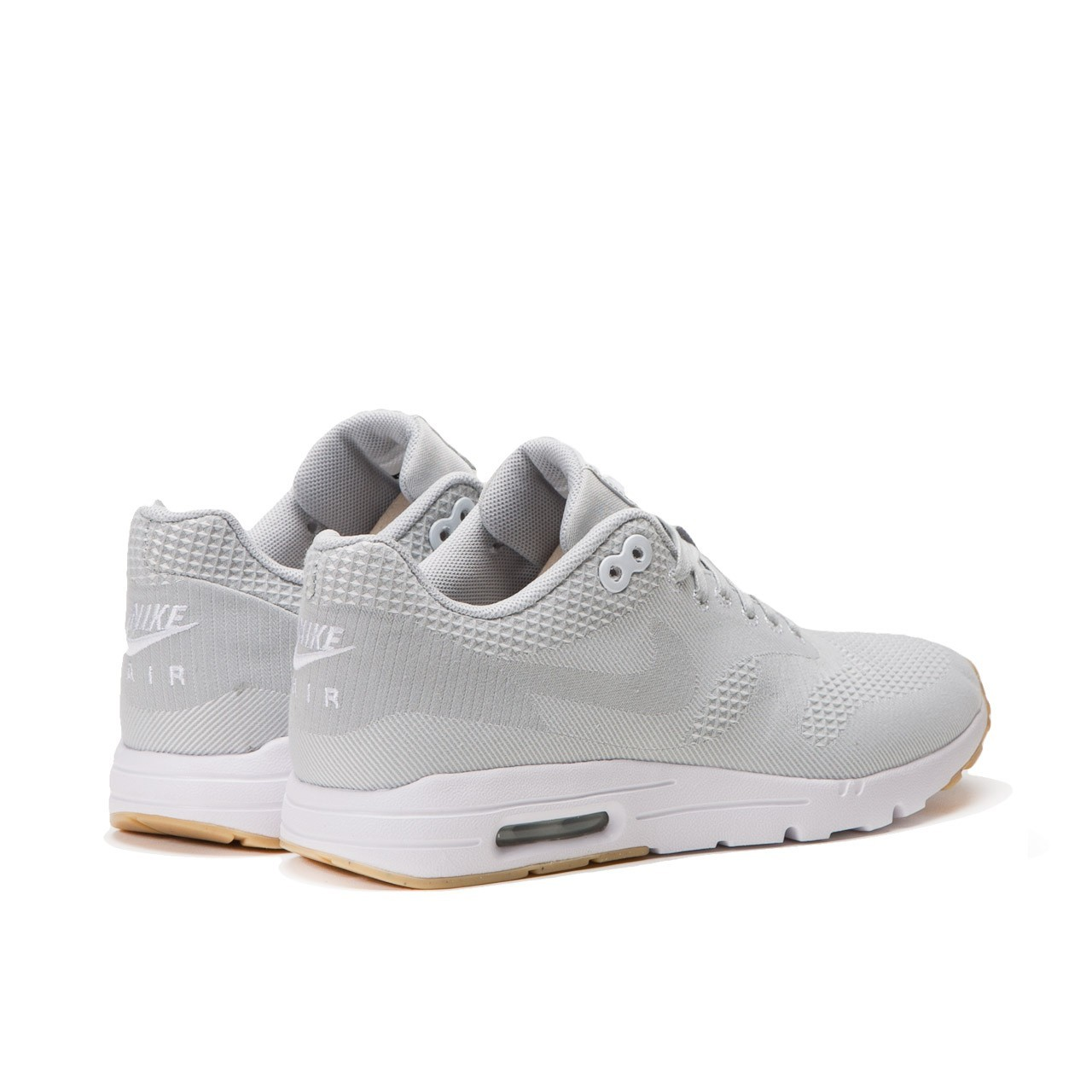 Nike Air Max 1 Ultra Jacquard Womens Shoes White/Grey Mist/Gum Yellow 704999-100