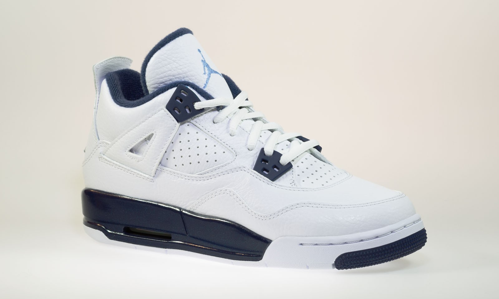 d030dcbc704125 Shop for Air Jordan 4(IV) Retro BG (Boys  GS) White Legend Blue ...