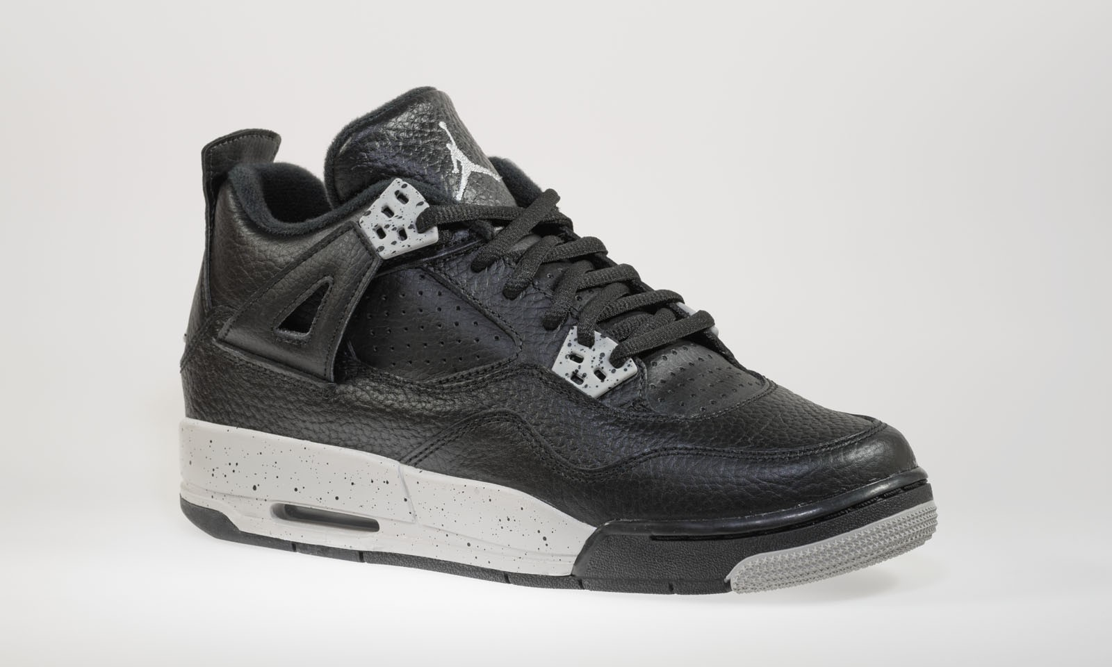 36c63556191411 Shop Air Jordan 4(IV) Retro BG  Tech Grey  Boys  GS Black Tech ...