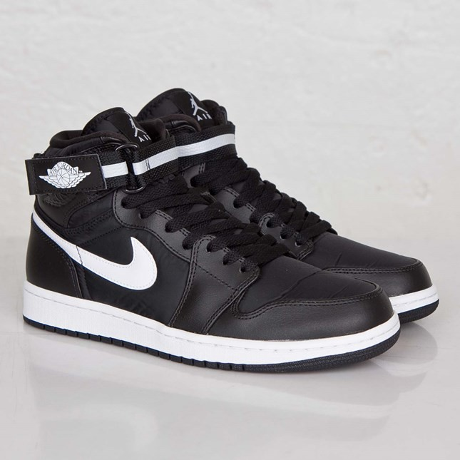 Air Jordan 1(I) High Strap Black Dark Grey White 342132-003 Mens Shoes/Sneakers