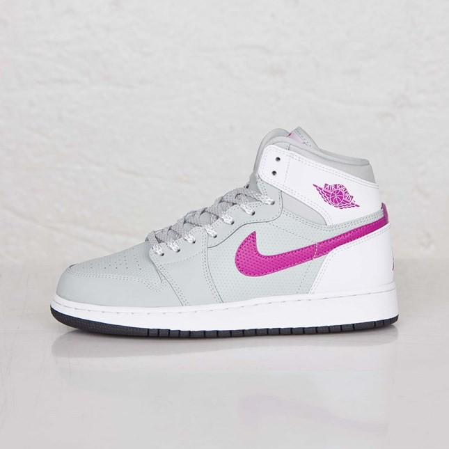 best loved 3fba9 bc544 Cheap authentic Air Jordan 1(I) Retro 1 High - GS - Grey ...