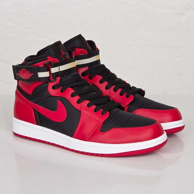 Air Jordan 1(I) High Strap Black Gym Red White 342132-002 Mens Shoes/Sneakers