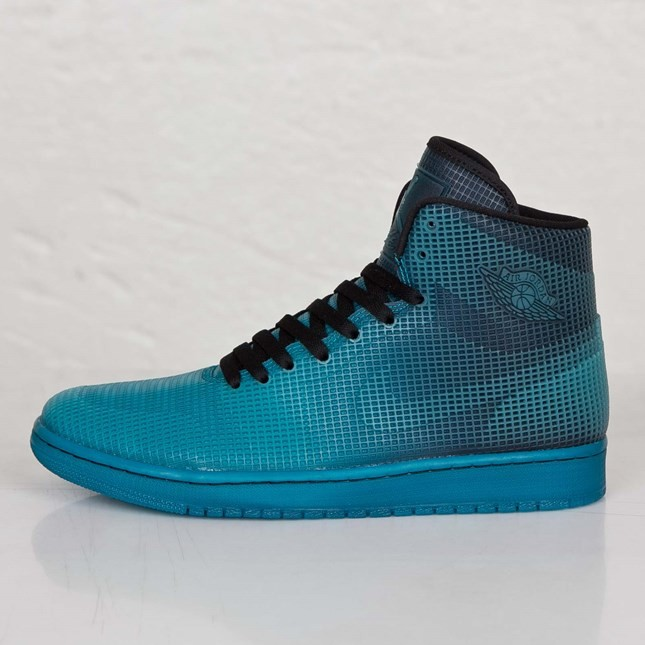 Air Jordan 4Lab1 Black Tropical Teal 677690-020 Mens Shoes/Sneakers