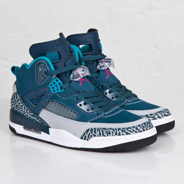 Jordan Spizike Space Blue Fusion Pink Wolf Grey Tropical Teal 315371-407 Mens Basketball Shoes