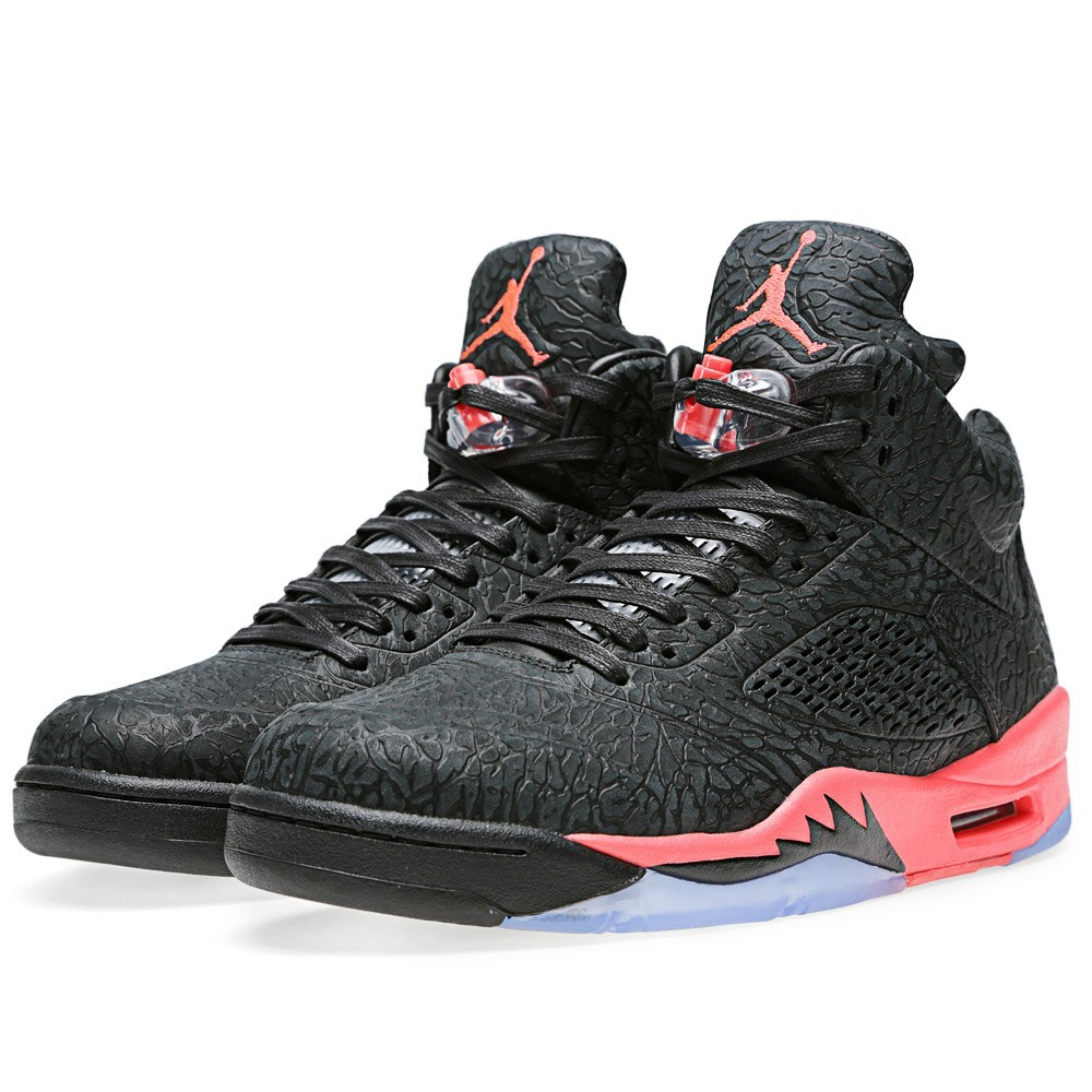 WMNS Air Jordan 3Lab5 Infrared Black 599581-010 Womens Basketball Shoes
