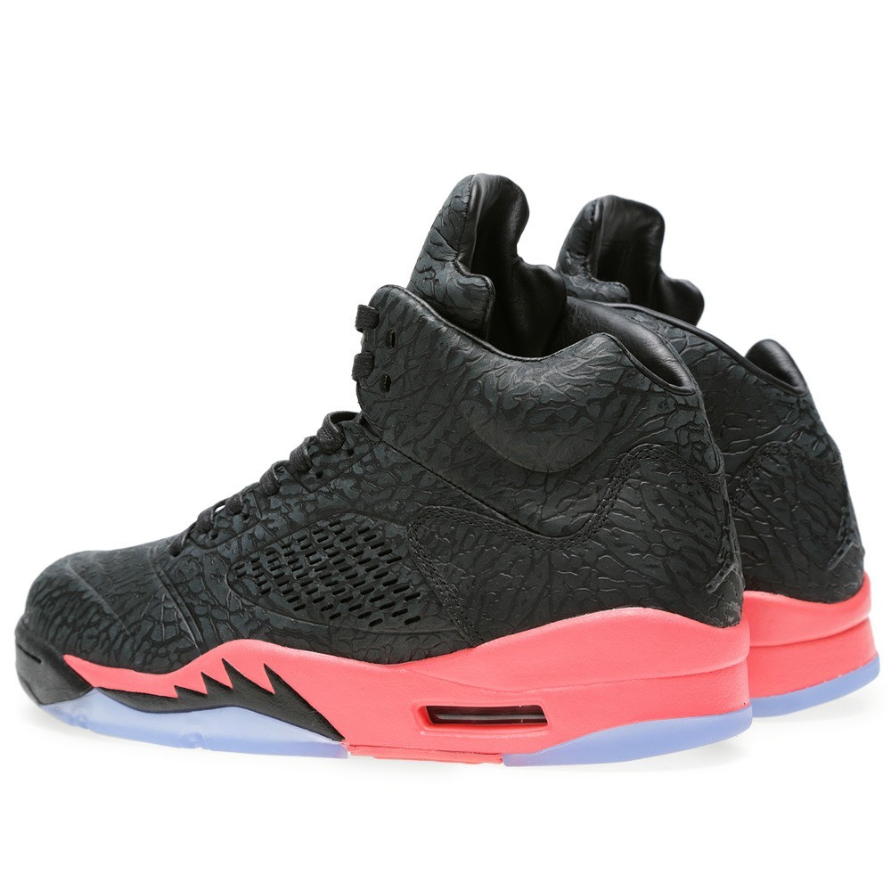 Air Jordan 3Lab5 Infrared Black 599581-010 Mens Basketball Shoes
