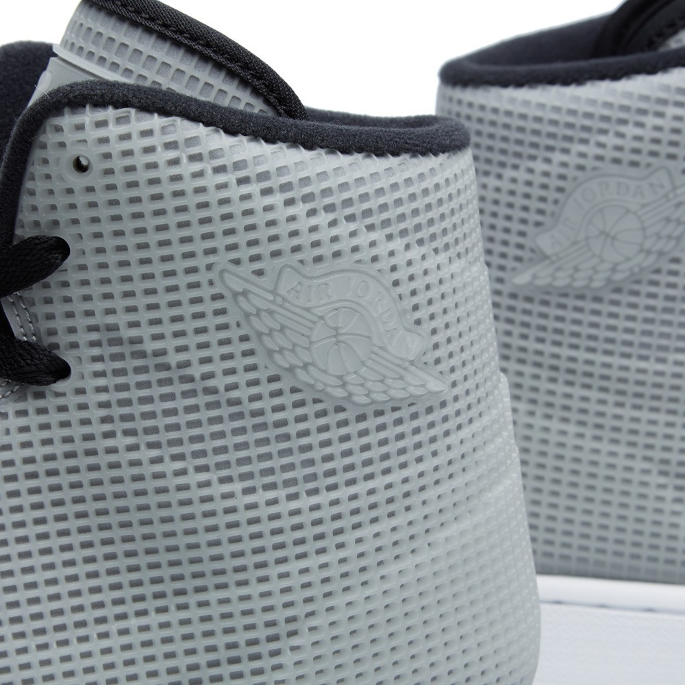 Air Jordan 4LAB1 Glow in the Dark Reflect Silver Black 677690-355 Mens Shoes/Sneakers