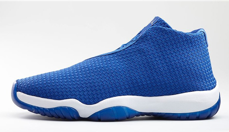 Air Jordan Future Royal Blue and White 656503-401 Mens Shoes
