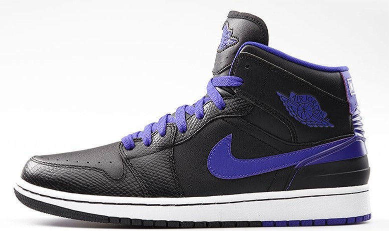 Air Jordan 1(I) Retro 86 Dark Concord Black Dark Concord White 644490-014 Mens Shoes/Sneakers