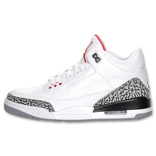 timeless design 1e775 a614a Restock WMNS Air Jordan Retro 3(III) White Fire red Cement ...