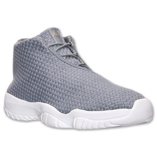 Air Jordan Future Woven Cool Grey and White 656503 003 Mens Shoes