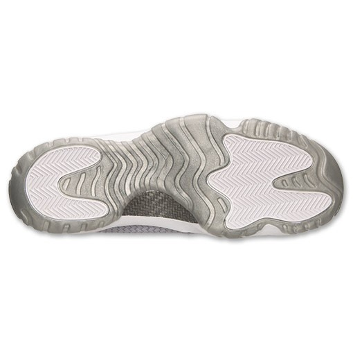 Air Jordan Future Wolf Grey and White 656503 004 Mens Shoes