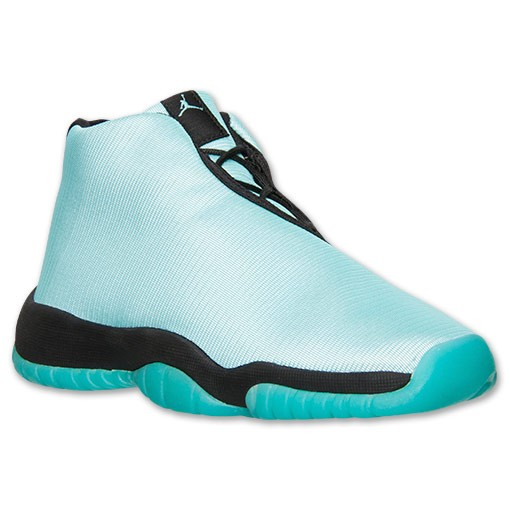 Air Jordan Future GS (Grade School) Girls' Bleached Turquoise Black Shoes 685251 300