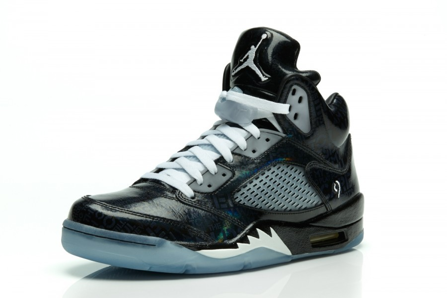 Air Jordan Retro 5(V) Doernbecher (DB) Glow in the Dark Mens Basketball Shoes