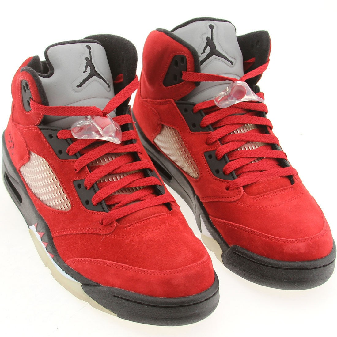 Outlet Air Jordan 5(V) Retro Raging Bull Red Suede 2015 Varsity Red ... 48b3bfd7c