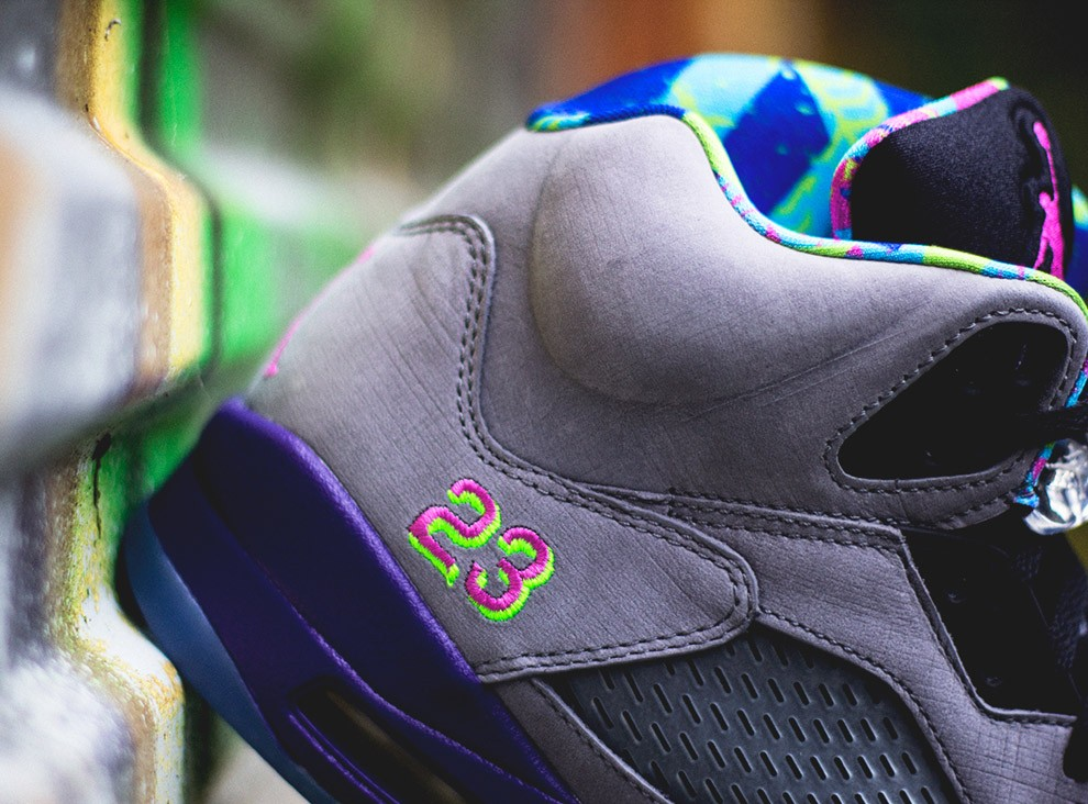 cheap for discount 51eb7 d05da ... Air Jordan 5(V) Retro Bel-Air Cool Grey Court Purple Game Royal ...