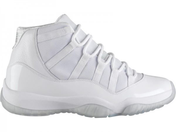 "WMNS Air Jordan 11(XI) Retro ""Silver Anniversary"" White Metallic Silver 408201-101 Womens Basketball Shoes"