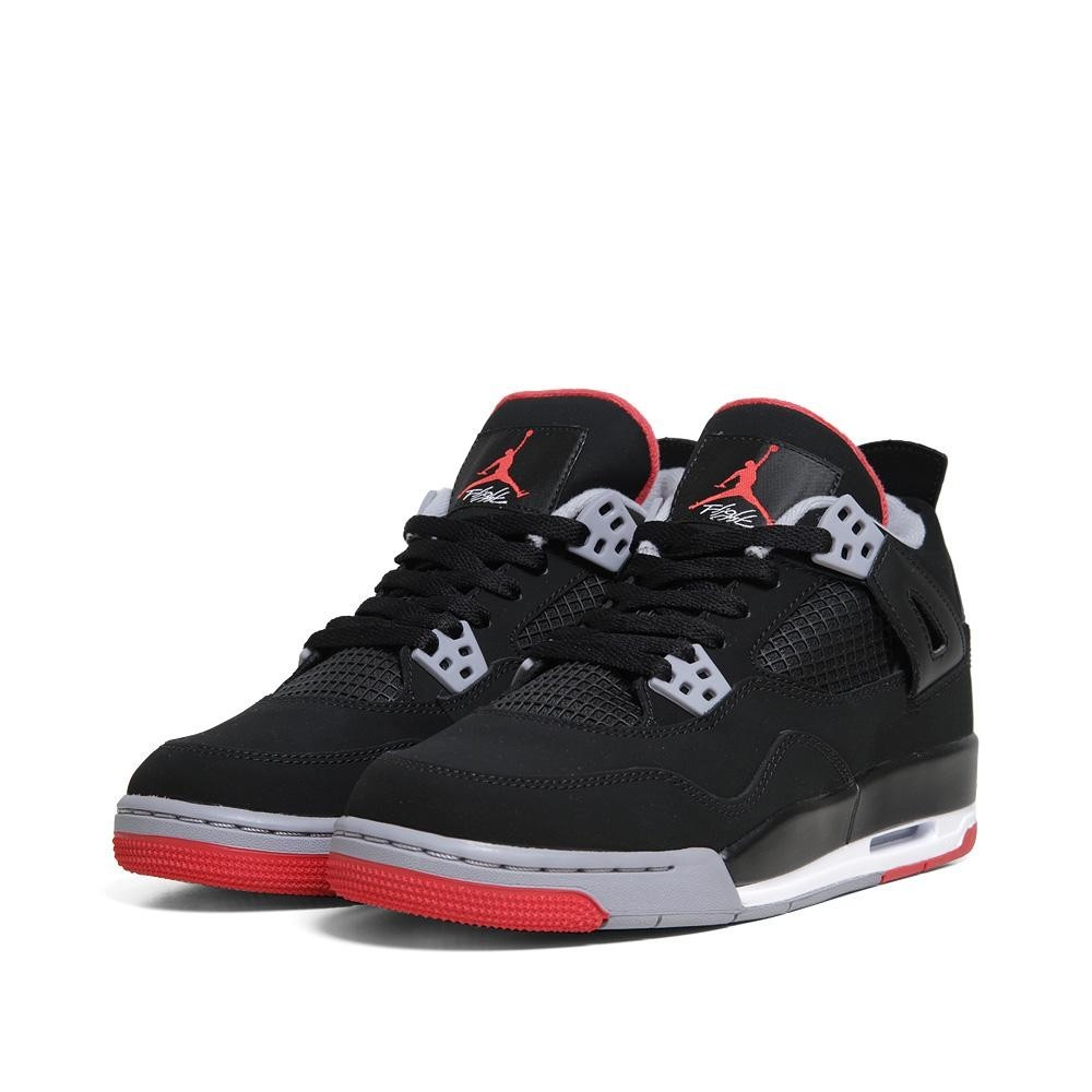 fd49fc10840afd Outlet Restock Air Jordan 4(IV) Retro Bred - GS - Black Fire Red ...