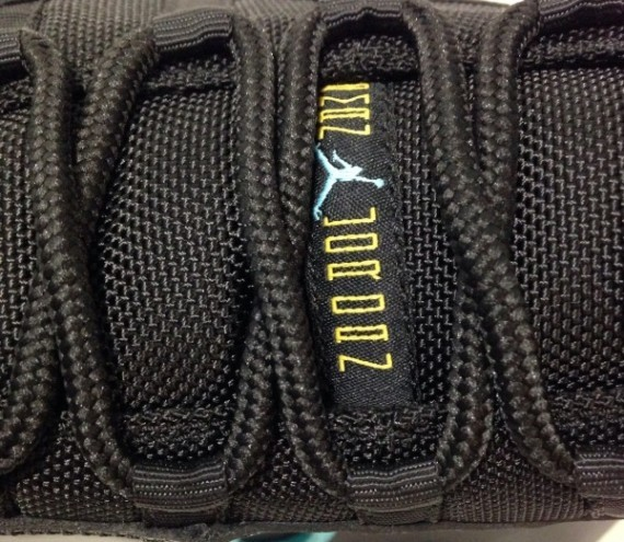 WMNS Air Jordan 11(XI) Retro Gamma Blue Black Gamma Blue Black Varsity Maize 378037-006 Womens Basketball Shoes