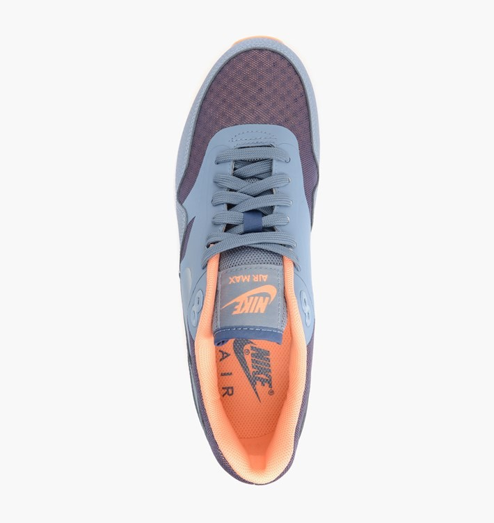 Womens Nike Air Max 90 Ultra Essential Cool Blue/Cl Bl-Sunset Glow-White 704993-400 Casual Shoes