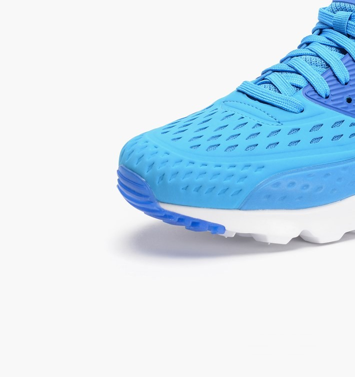 Mens Nike Air Max 90 Ultra BR (BREEZE) Light Photo Blue/White/Game Royal 725222-404 Shoes