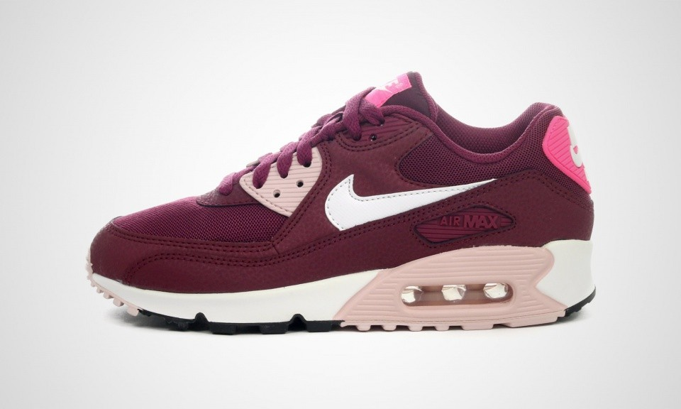 Really Cheap Womens Nike Air Max 90 Essential Villain Red