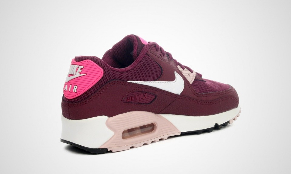 nike air max 90 dames bordeaux
