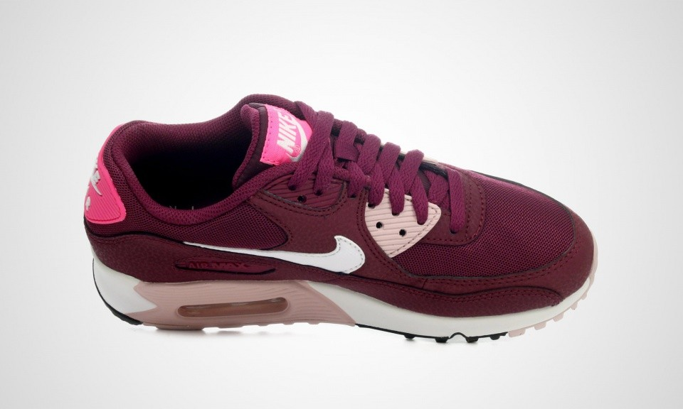 02d1b57fdb65d ... coupon for womens nike air max 90 essential villain red white champagne  pink pow 616730 00848
