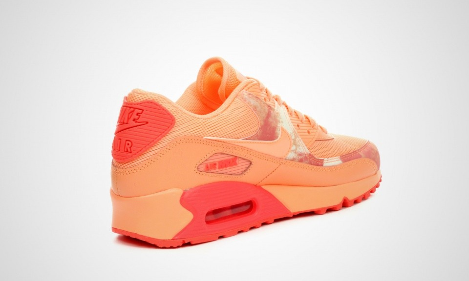New Releases Womens Nike Air Max 90 Print Sunset Glow Sunset
