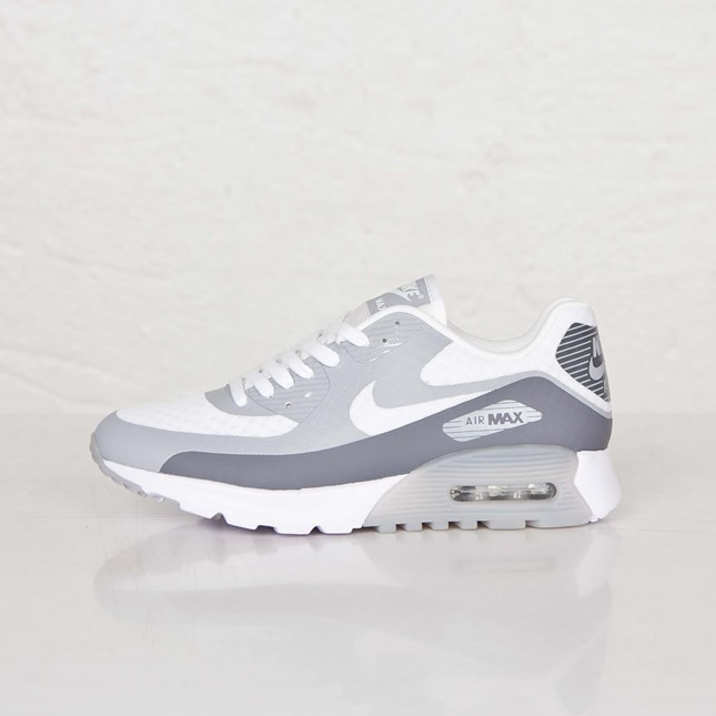 7f2b6a578c Outlet USA Womens Nike Air Max 90 Ultra BR (Breathe) White/Cool Grey ...