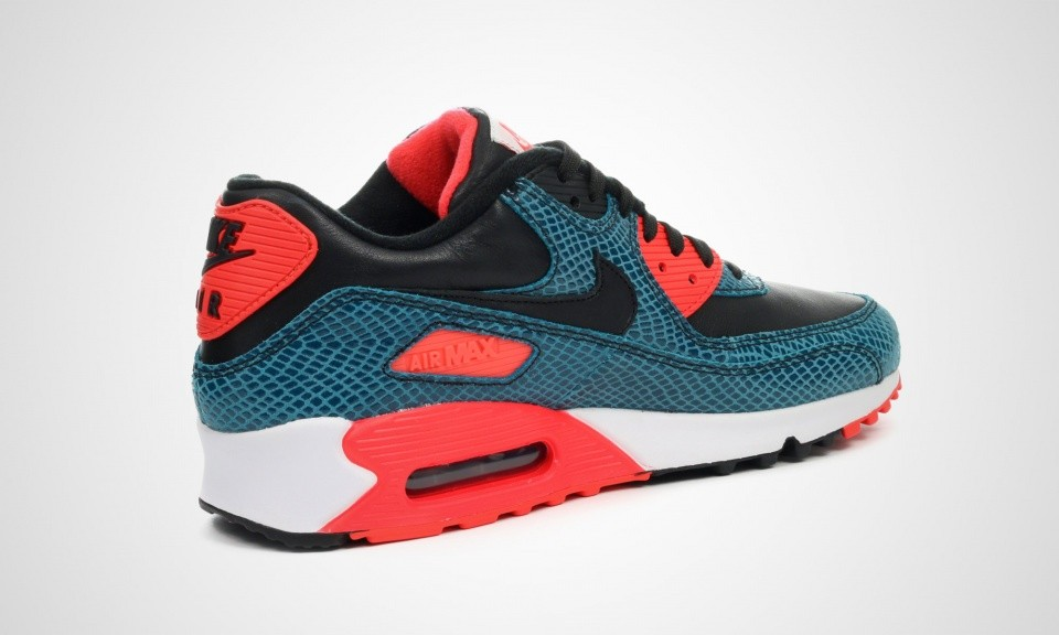Mens Nike Air Max 90 Anniversary Dusty Cactus/Black-Infrared-White 725235-300 Shoes