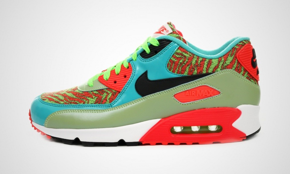 the best attitude d1b66 051f2 Mens Nike Air Max 90 Anniversary Flash LimeBlack-Hyper Jade-Infrared 725235