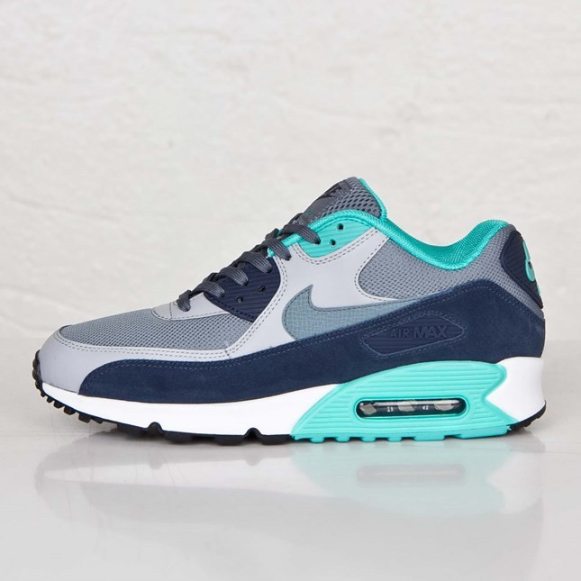official photos 9ca59 61367 ... netherlands mens nike air max 90 essential blue graphite blue graphite  wolf grey 537384 603b9 36b6a