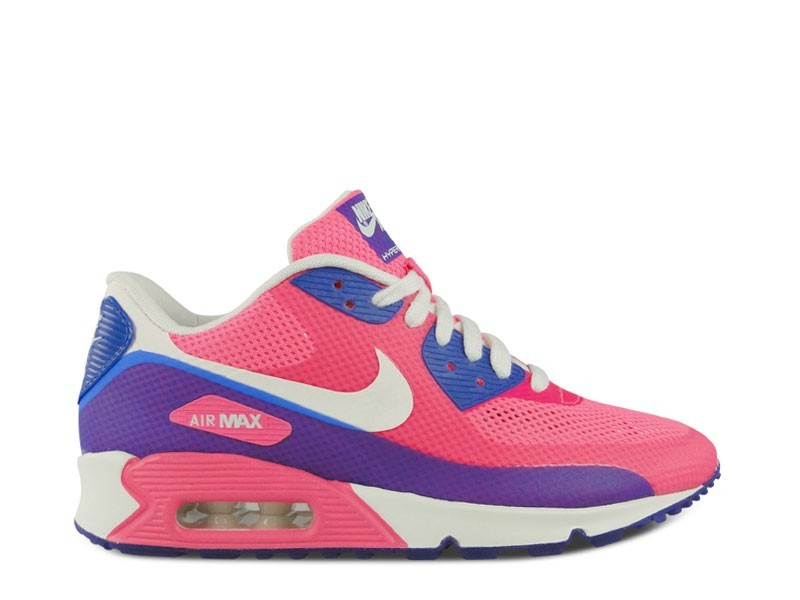 b35365be33 Womens Nike Air Max 90 Hyperfuse Premium Pink Flash / Sail - Pink Flash -  Hyper