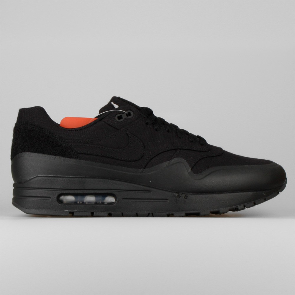 Mens Nike Air Max 1 V SP Patch Pack - Monotone Black/Black 704901-001 Shoes