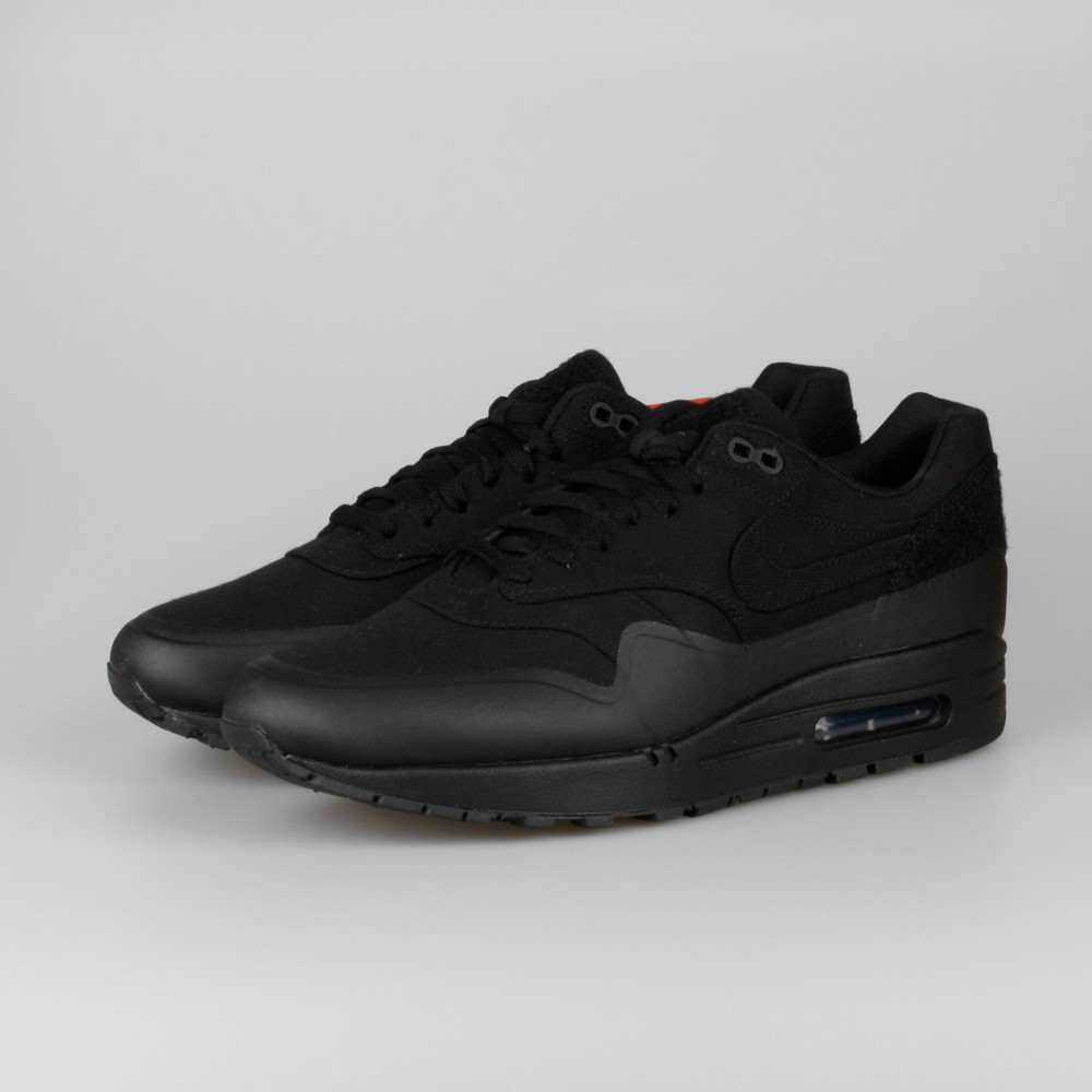 newest 840b5 611f6 ... Mens Nike Air Max 1 V SP Patch Pack - Monotone Black Black 704901- ...