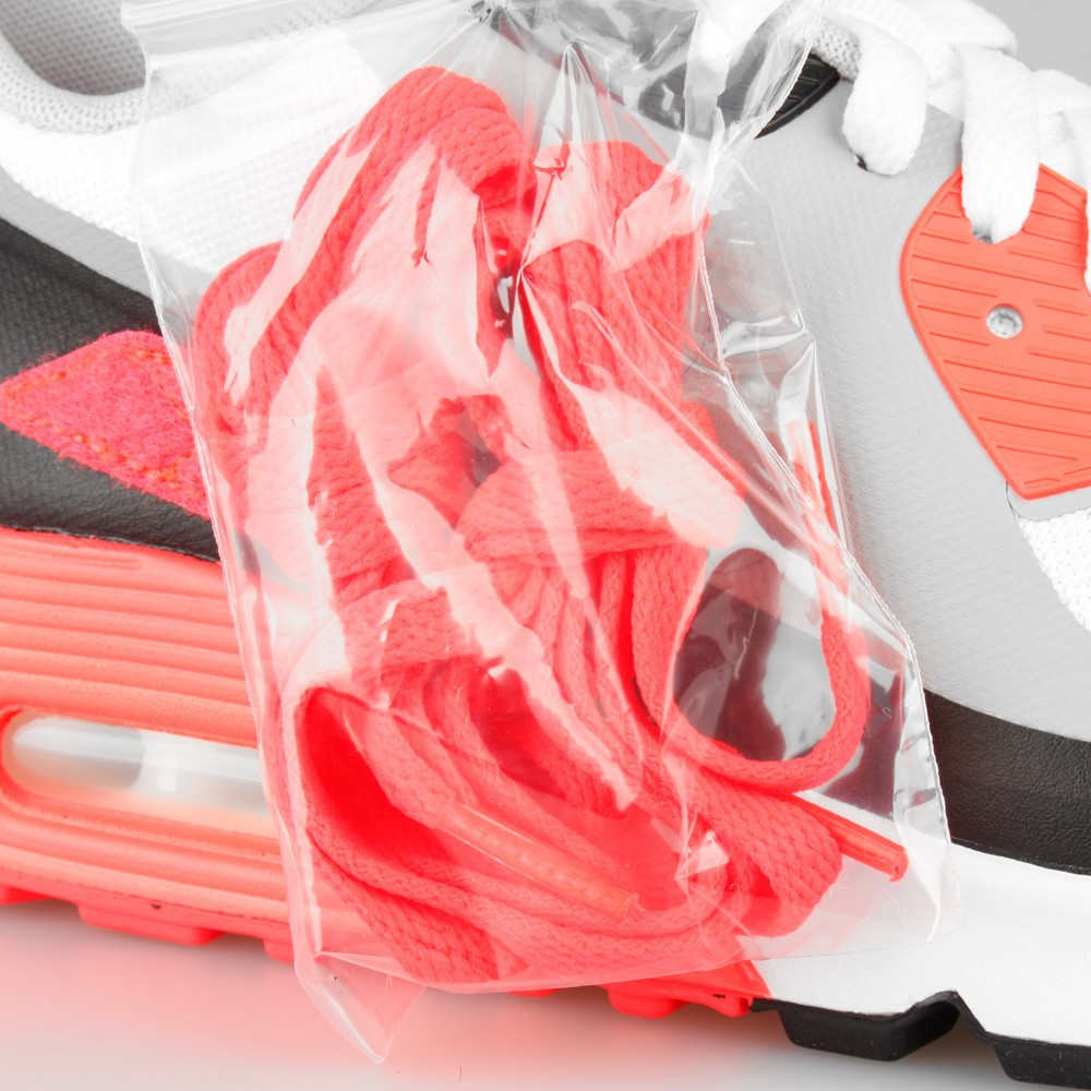 Mens Nike Air Max 90 V SP Patch Infrared OG White/Cool Grey-Infrared 746682-106 Trainer