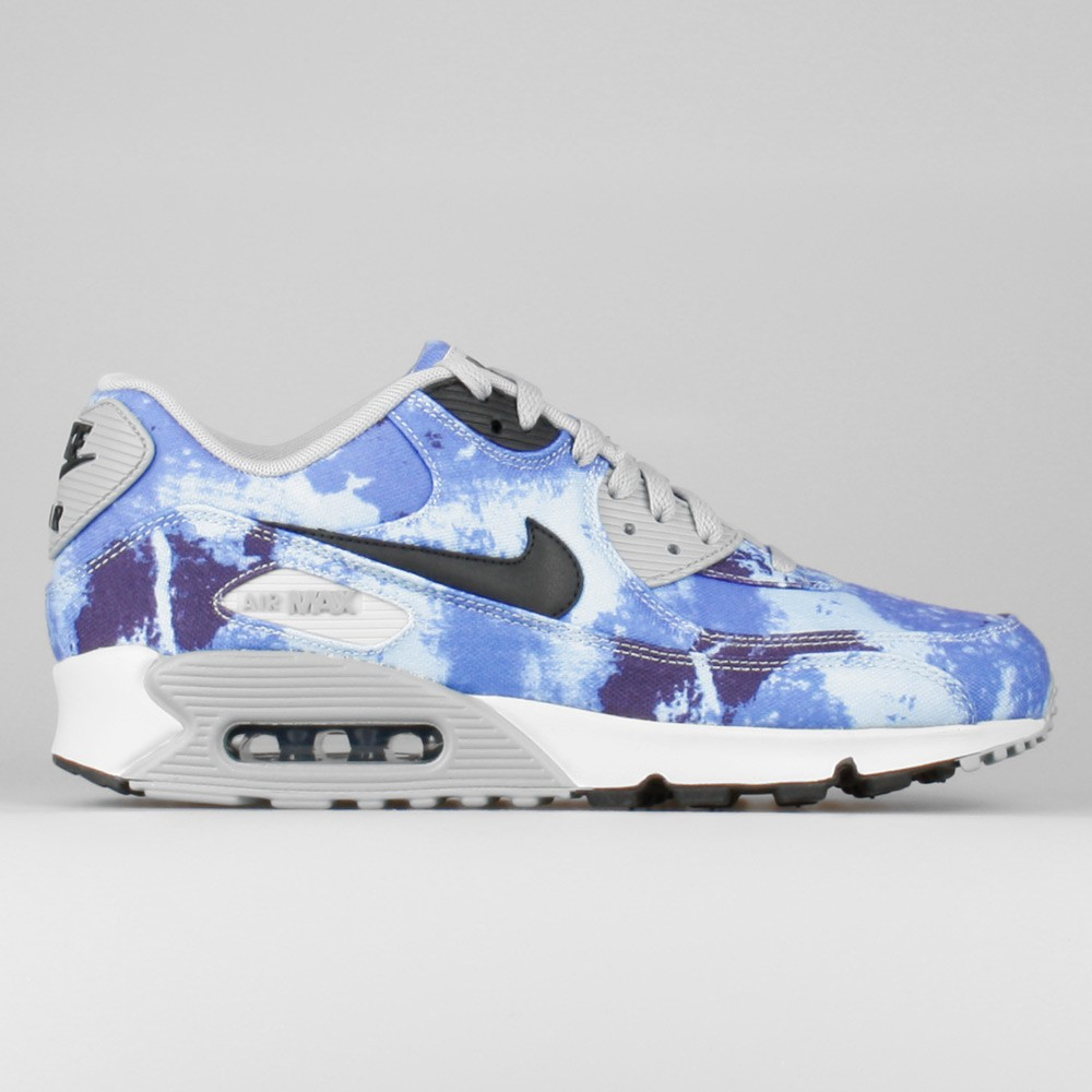 Mens Nike Air Max 90 SD Tie Dye Gradient Persian Persian Violet/Black/Dove Grey/Ash Grey 724763-500 Casual Shoes