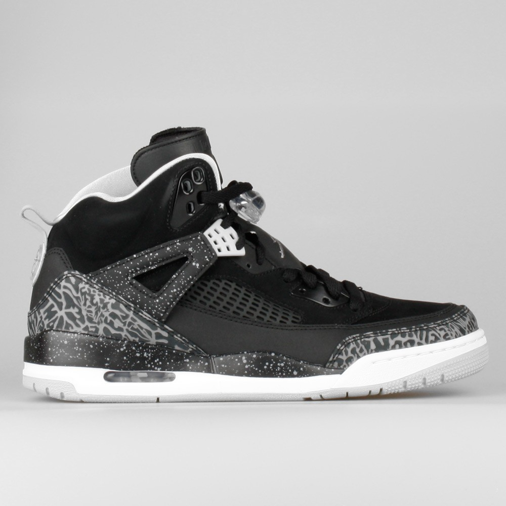 Mens Nike Jordan Spizike Oreo Black/Cool Grey-Grey Mist-White 315371-004 Sneakers