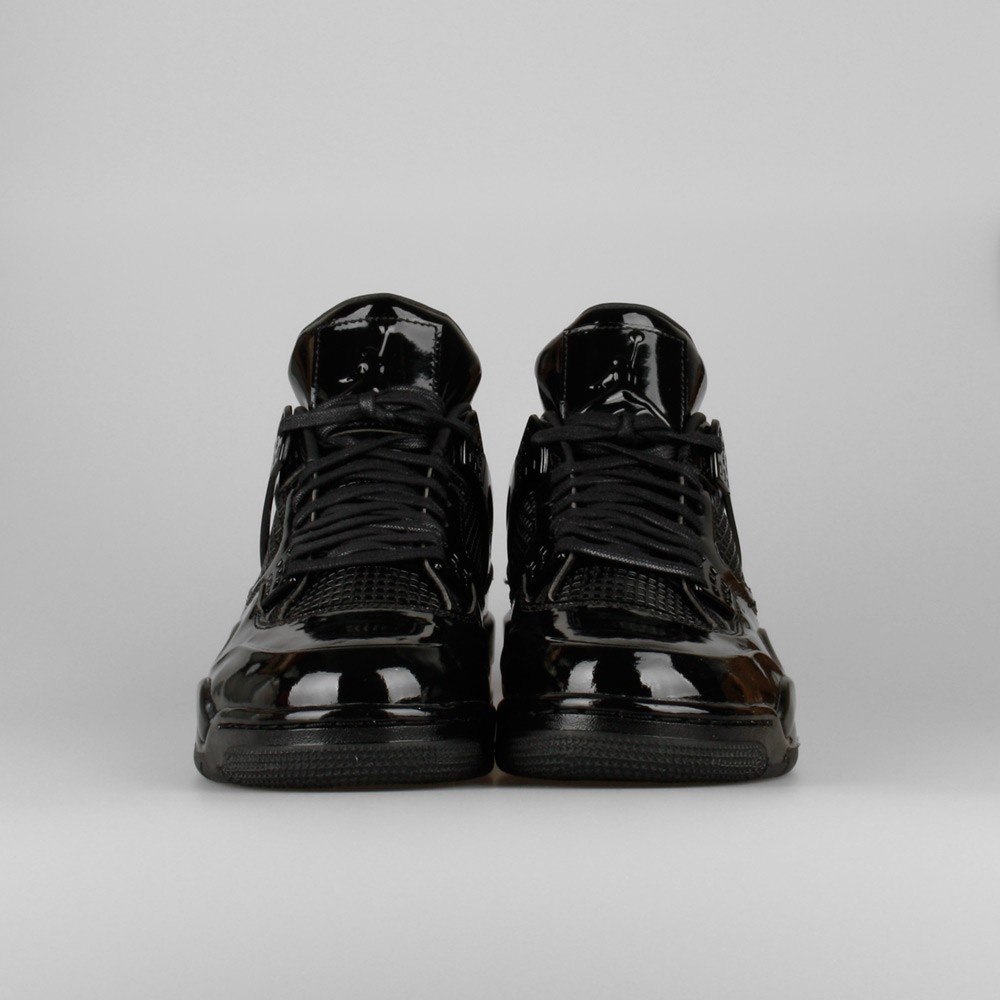 Mens Nike Air Jordan 11Lab4 Piano Black/White 719864-010 Basketball Shoes
