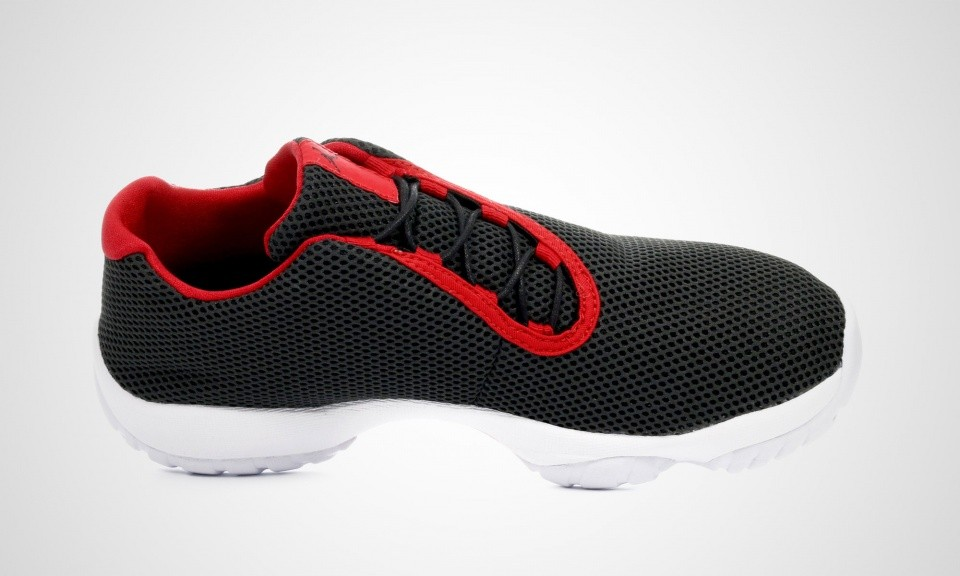 Mens Nike Air Jordan Future Low Bred Black/University Red-White 718948-001 Shoe