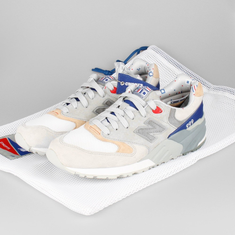 Concepts x New Balance 999 Kennedy ML999CP Trainers For Men Grey Beige White Blue Red