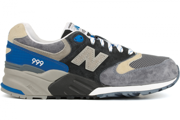New Balance 999 ML999CBK Elite Edition Running Sneaker For Men Charcoal/Black/Blue/Grey