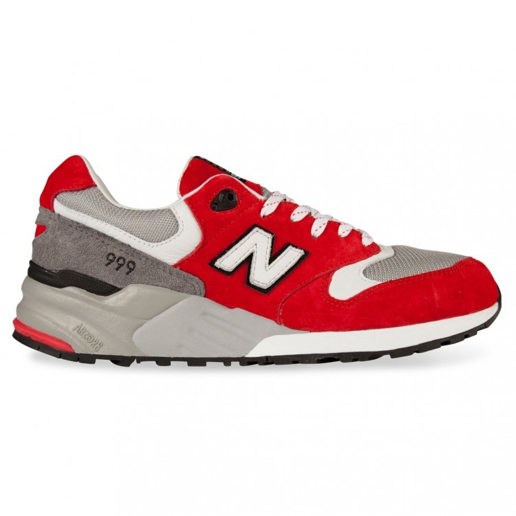 Men's New Balance 999 ML999SBG Elite Edition Sneakers Red Grey White