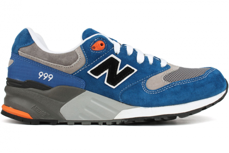 Men's New Balance 999 Elite Edition ML999RTB Trainers Blue Grey Black White