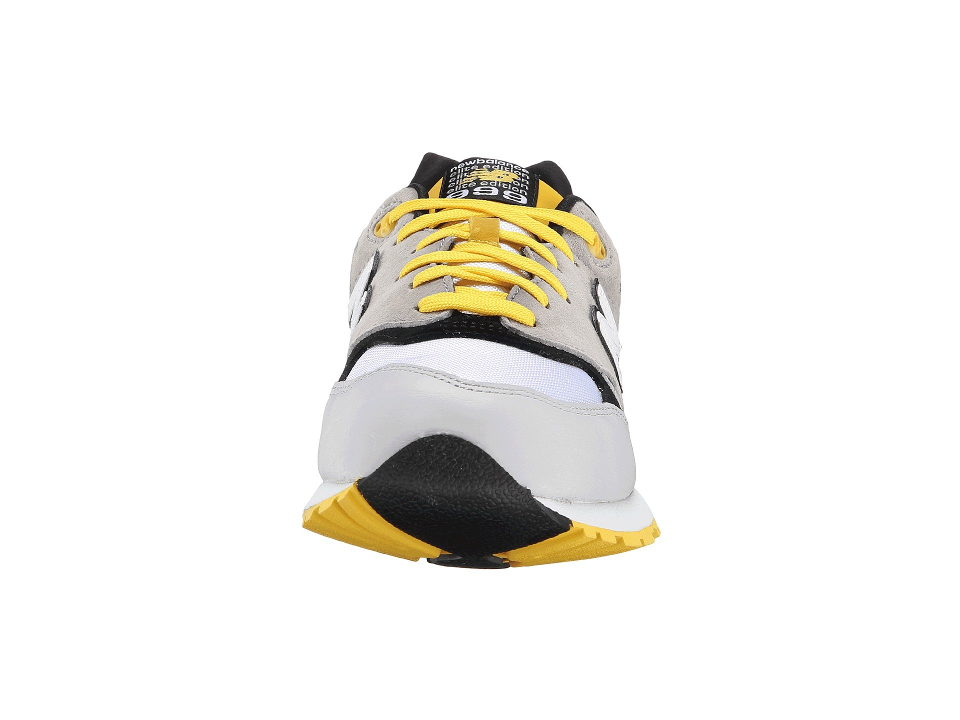 New Balance 999 Suede / Mesh Elite Edition Trainers For Men Grey Yellow White Black