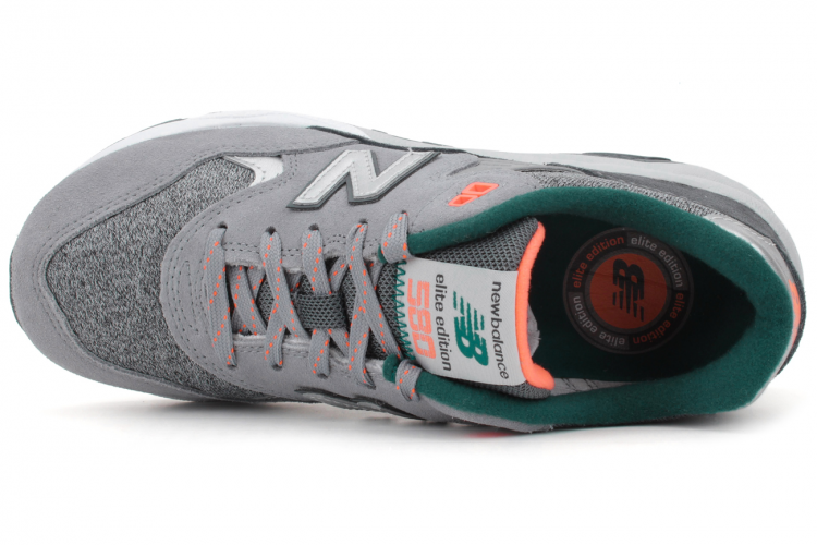 New Balance WRT580SO Elite Edition RevLite Shoes For Women Steel Grey/Silver/Grey