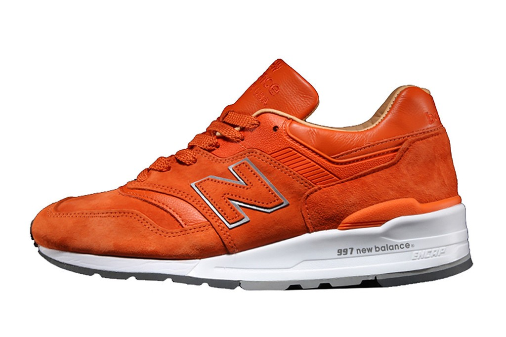 Concepts x New Balance 997 'Luxury Goods' M997TNY Sneakers Men Orange/Cream