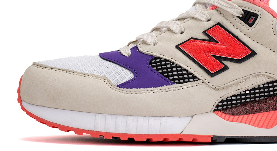 Womens New Balance 530 West NYC Lava Shoes Off White / Beige / Purple – Fuchsia